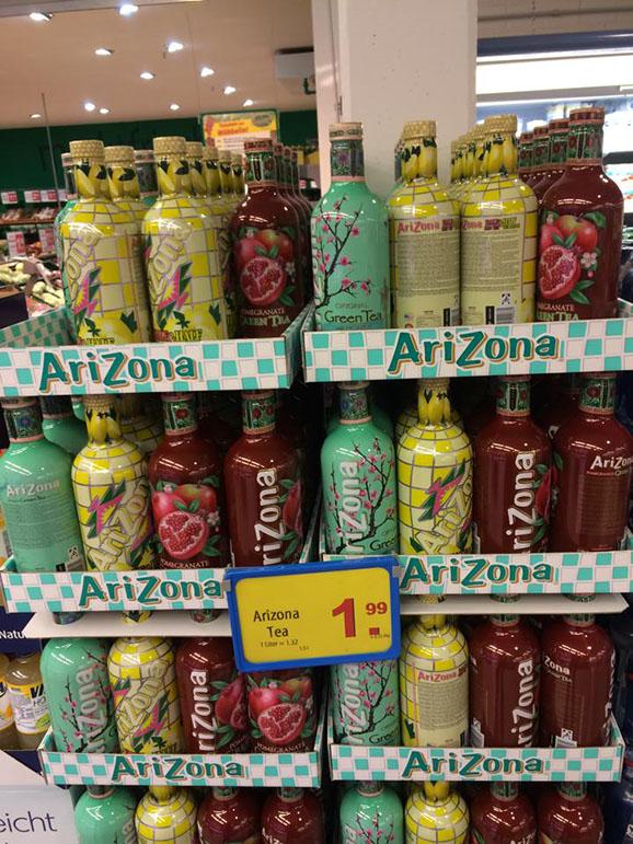Arizona Eistee 1 5 Liter
