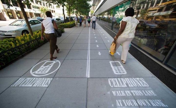 Cell Phone Lane