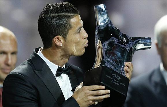 Ronaldo Europas Fußballer des Jahres