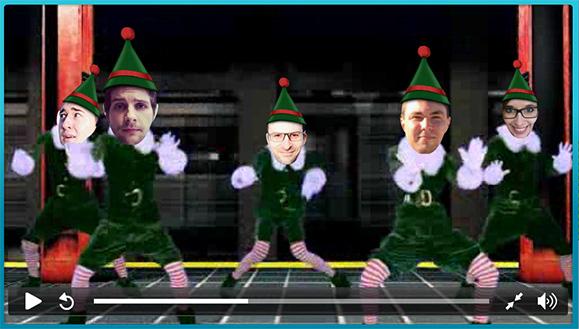 Fröhliche Weihnachten von der Studio-Crew