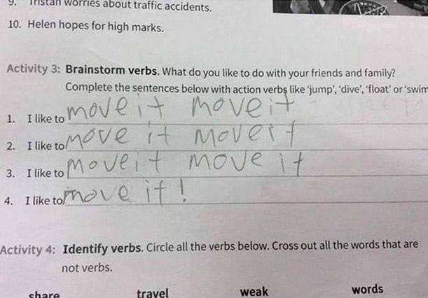 Neulich im Englisch-Test
