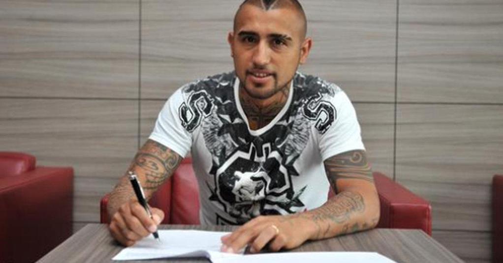 Vidal unterschreibt beim FC Bayern