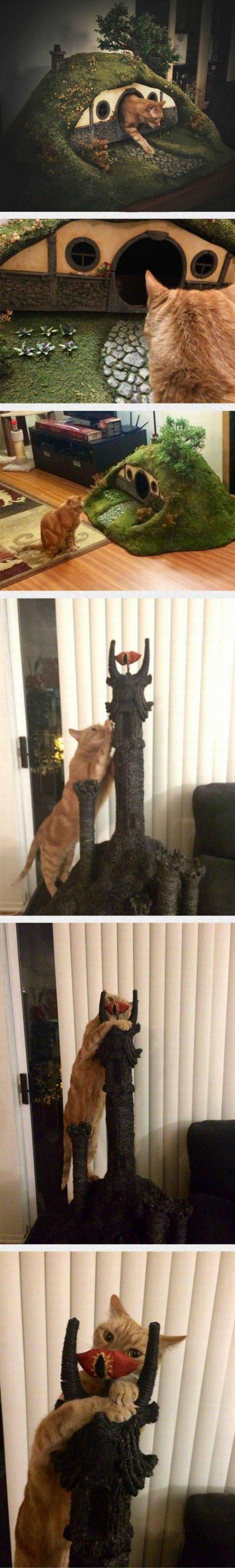 Katzen-Mittelerde