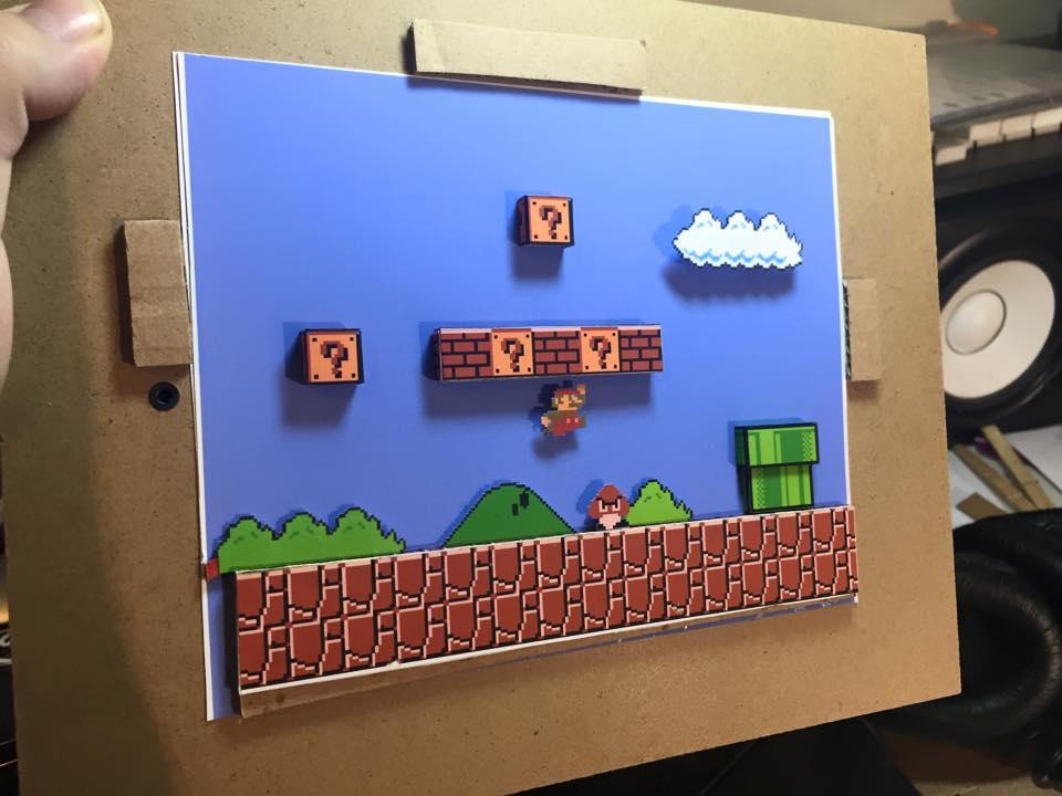 Gaming-/Pixel-Kunst