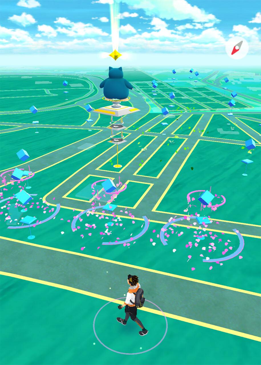 Pokemon Go in Rom