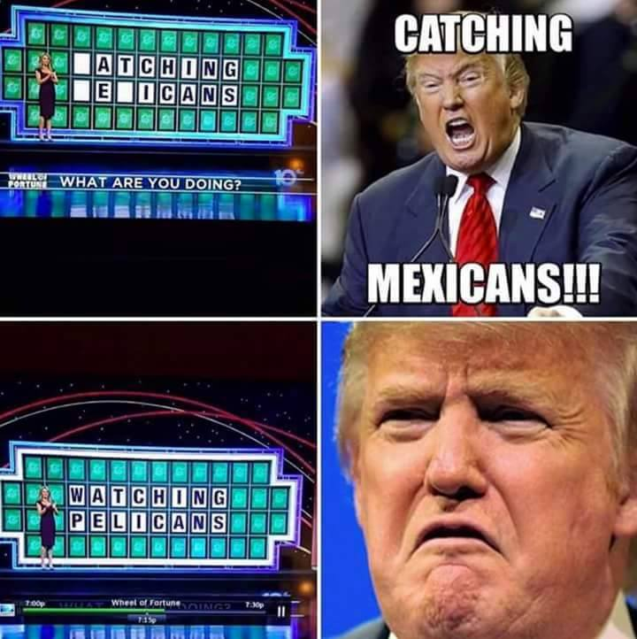 Catching Mexicans!