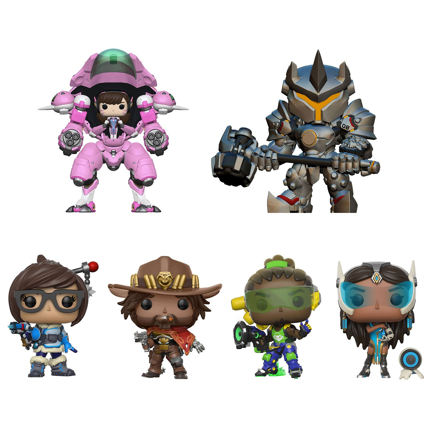 Neue Overwatch Funko Pop Figuren