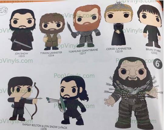 Die neuen Funko Game of Thrones-Figuren!