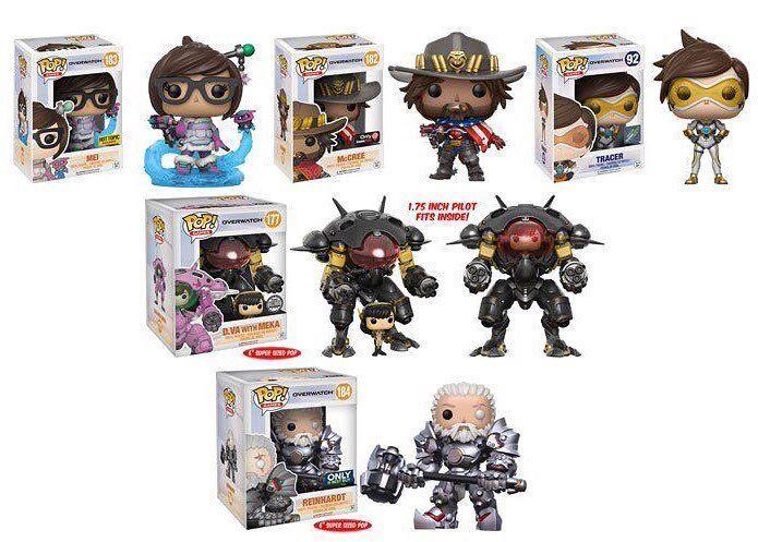 Die neuen Funko-Overwatch-Figuren