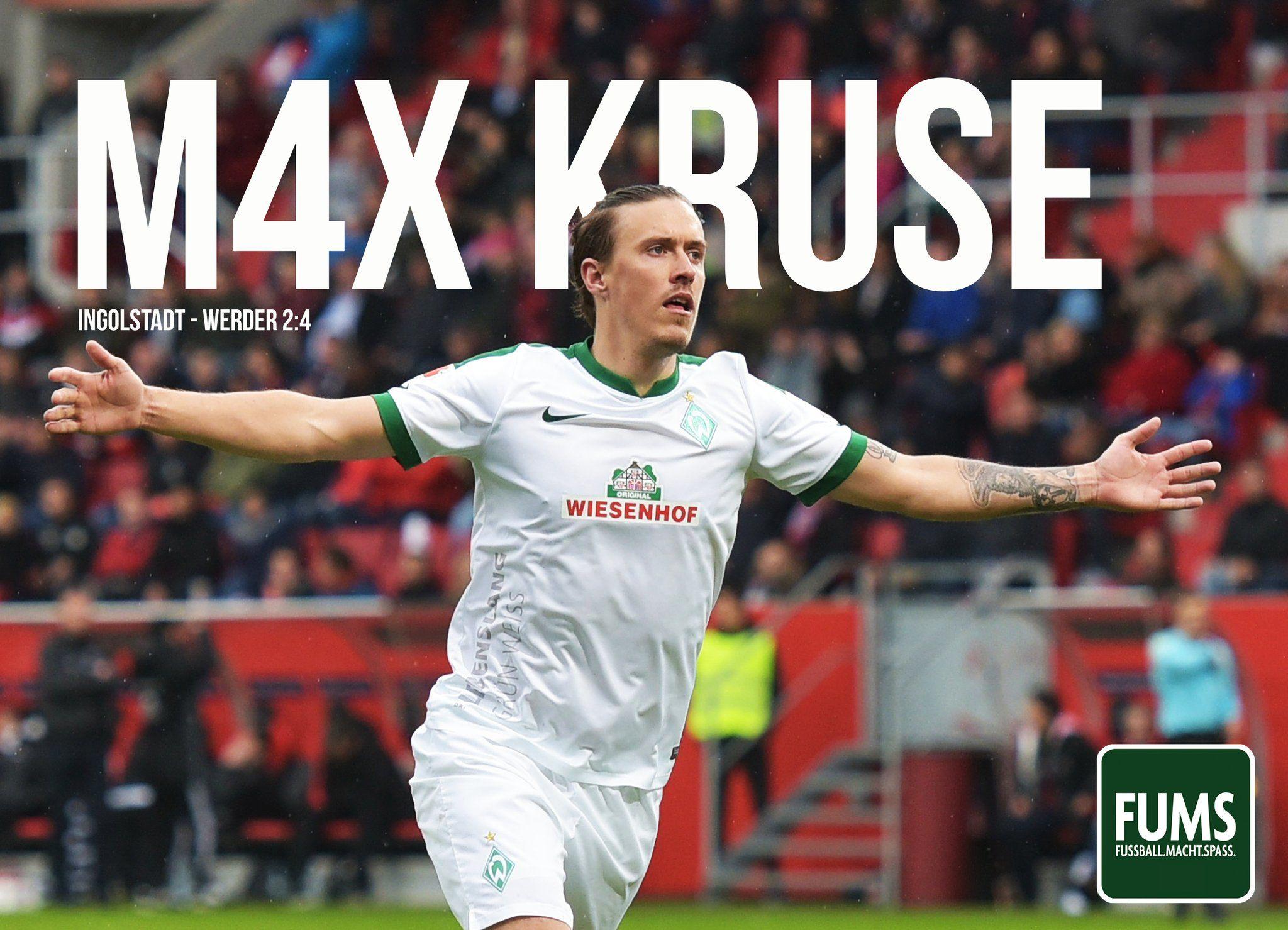 Max Kruse Fußballgott!