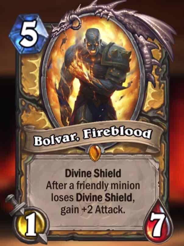 Hearthstone: Bolvar!